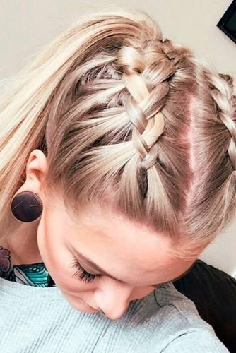 637e11abc2af8 These hairstyles can also save your blowout hair and make it last all day  and even more. After you undo your hair you can still have a gorgeous  blowout as ...