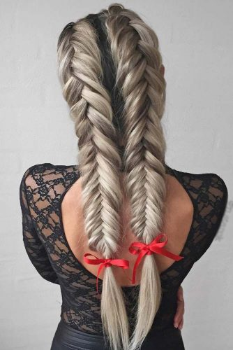 24 Unbelievably Beautiful Braid Hairstyles For Christmas Party My Stylish Zoo