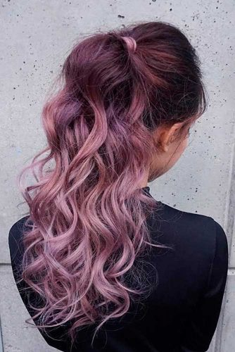 18 Chocolate Lilac Hair Ideas Is The Delicious New Color