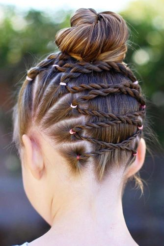 This style is by far one of my favorite in little girl hairstyles. This braid is typically down in a single braid from the center of the head up towards the ...