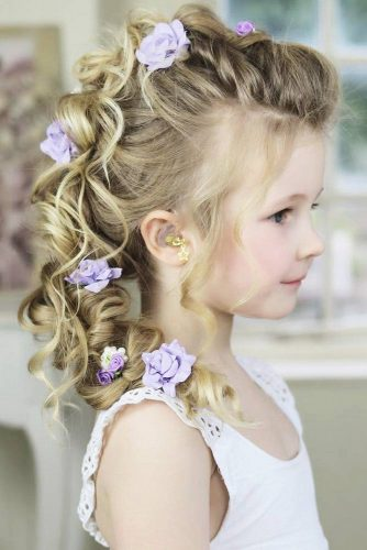 46 CUTE GIRLS HAIRSTYLES FOR YOUR LITTLE PRINCESS – My Stylish Zoo