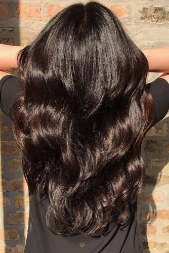 10 Beautiful Trends Of Dark Brown Hair Color My Stylish Zoo