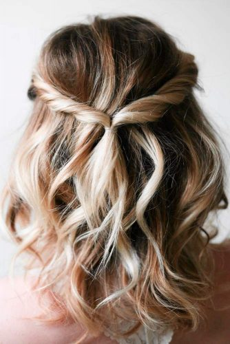 21 Five Minute Holiday Easy Hairstyles My Stylish Zoo