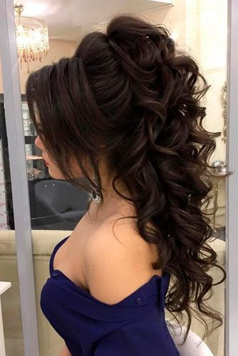 21 IDEAS OF FORMAL HAIRSTYLES FOR LONG HAIR - My Stylish Zoo