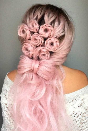 30 HALF UP HALF DOWN BRIDESMAID HAIRSTYLES – My Stylish Zoo