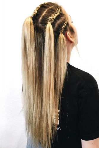 15 Summer Half Up Half Down Ponytail Trends You Ll Love My Stylish Zoo