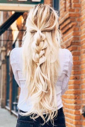 15 Summer Half Up Half Down Ponytail Trends You Ll Love