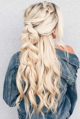 15 Summer Half Up Half Down Ponytail Trends Youll Love My Stylish Zoo