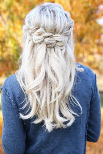 15 STYLING OPTIONS FOR A CROWN BRAID