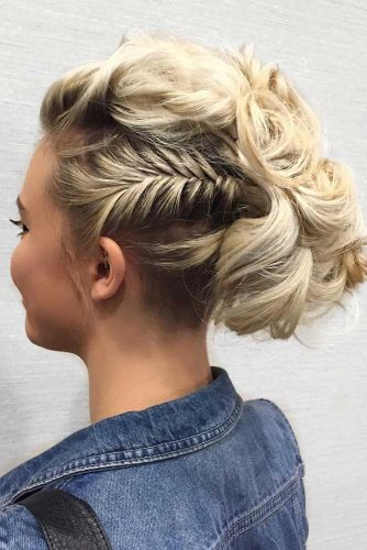 24 LOVELY SHORT HAIR UPDOS THAT ARE PERFECT FOR EVERYDAY OCCASION