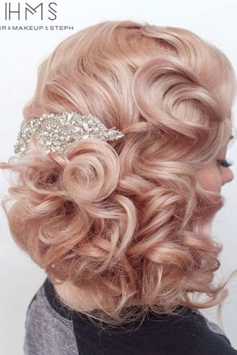 15 GORGEOUS PROM HAIRSTYLES FOR SHORT HAIR