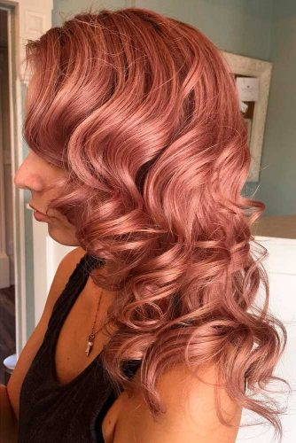 18 Rose Gold Hair Color Is The Hottest Trend This Year My Stylish Zoo