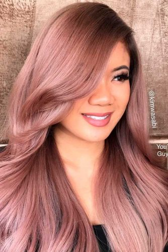 18 ROSE GOLD HAIR COLOR IS THE HOTTEST TREND THIS YEAR