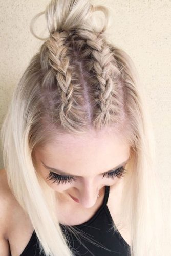 18 SIMPLE BRAIDS FOR SHORT HAIR TO LOOK DAZZLING - My ...