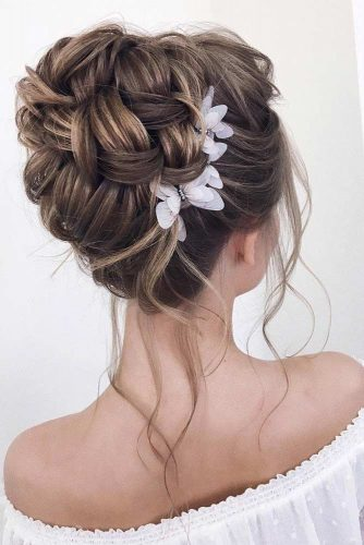 18 Super Trendy Wedding Updos For Long Hair My Stylish Zoo