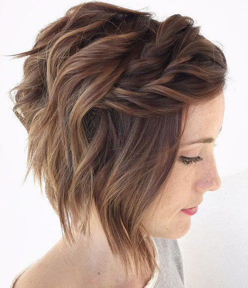 25 Beautiful And Fresh Braid Hairstyle Ideas For Short Hair My