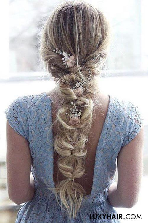25 Gorgeous Wedding Braid Hairstyles For Your Big Day - My Stylish Zoo