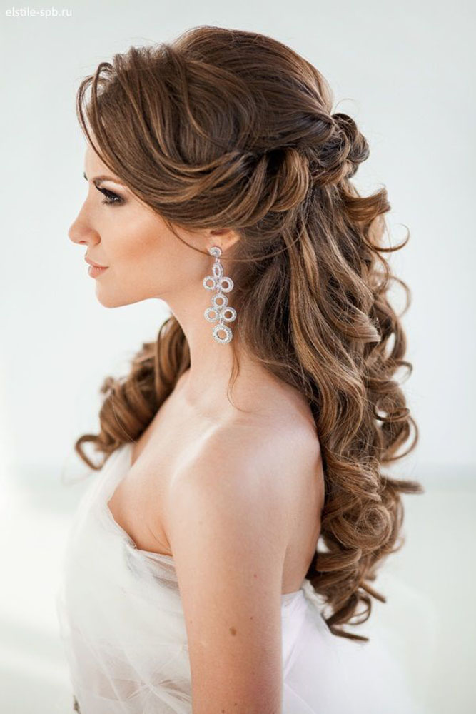 40 Best Wedding Hairstyles For Long Hair 2018 19 My Stylish Zoo