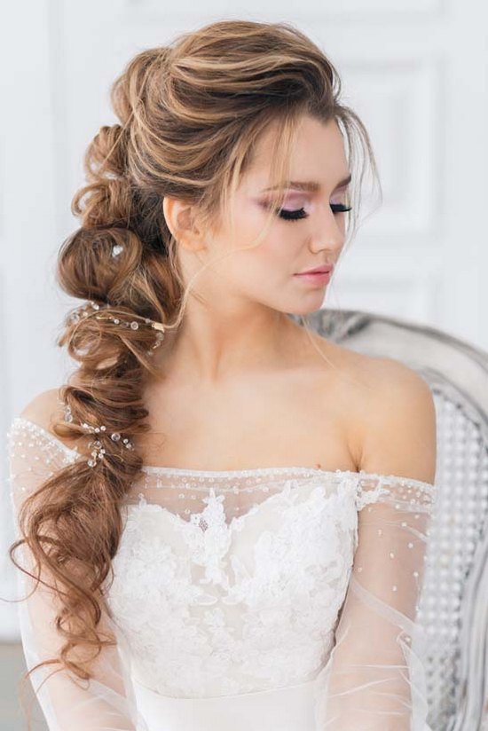 Top 25 Long Wedding Hairstyles For Bride From Art4studio My