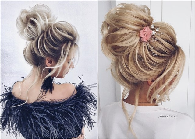 Top 18 High Bun Wedding Updo Hairstyles My Stylish Zoo