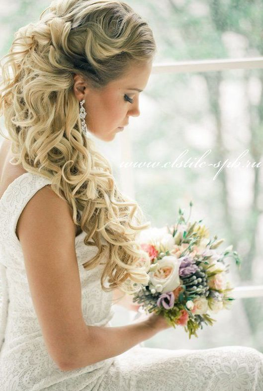 35 Stunning Half Up Half Down Wedding Hairstyles With Tutorial