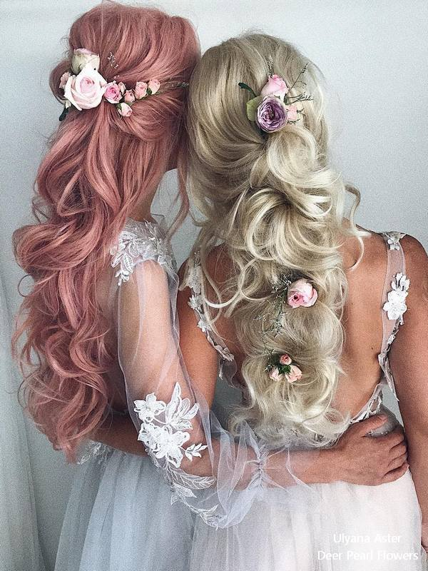 18 Beautiful Wedding Hairstyles from Ulyana Aster