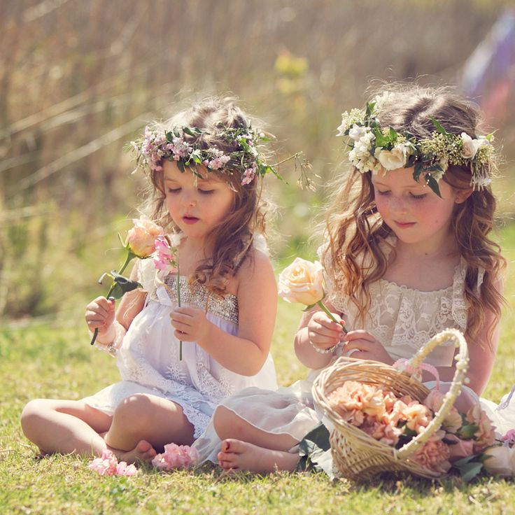 30 Super Cute Little Girl Hairstyles for Wedding