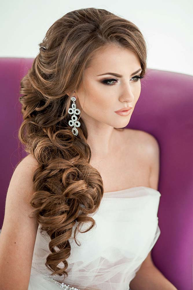40 Best Wedding Hairstyles For Long Hair 2018 My Stylish Zoo