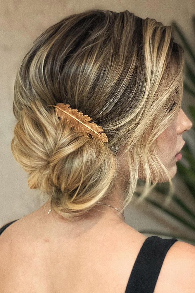 20 Bridesmaid Updos Elegant And Chic Hairstyles My Stylish Zoo