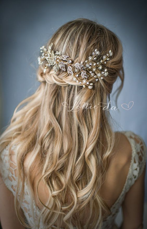 25 Chic Vintage Wedding Hairstyles And Bridal Hair Accessories