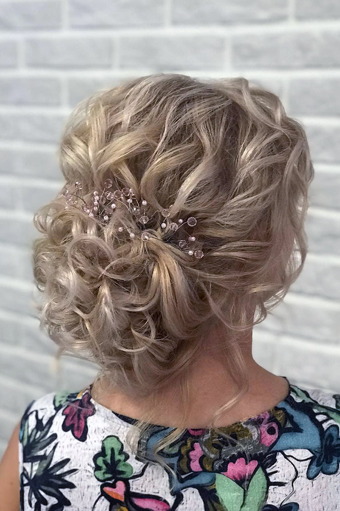 Long Curly Hairstyles For Mother Of The Bride The Halloween And