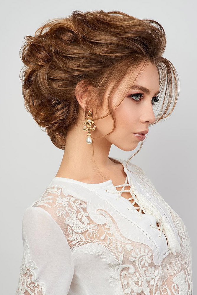 42 Mother Of The Bride Hairstyle Latest Bride Hairstyle 2019 My