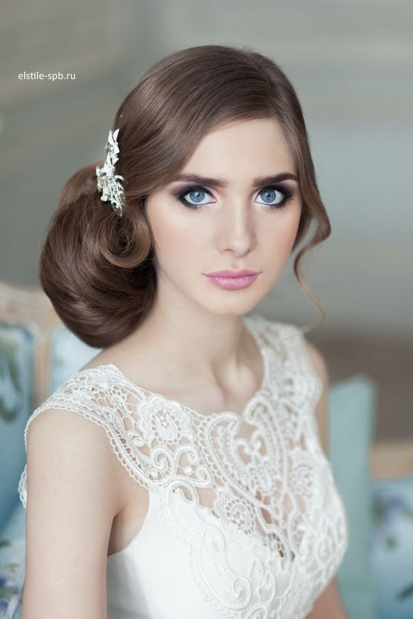 Top 20 Fabulous Updo Wedding Hairstyles: 20 Fabulous Wedding Bridal Hairstyles For Long Hair