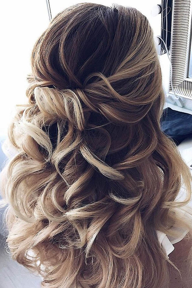 Photo 10-12: Timeless Wedding Hairstyles For Long Hair