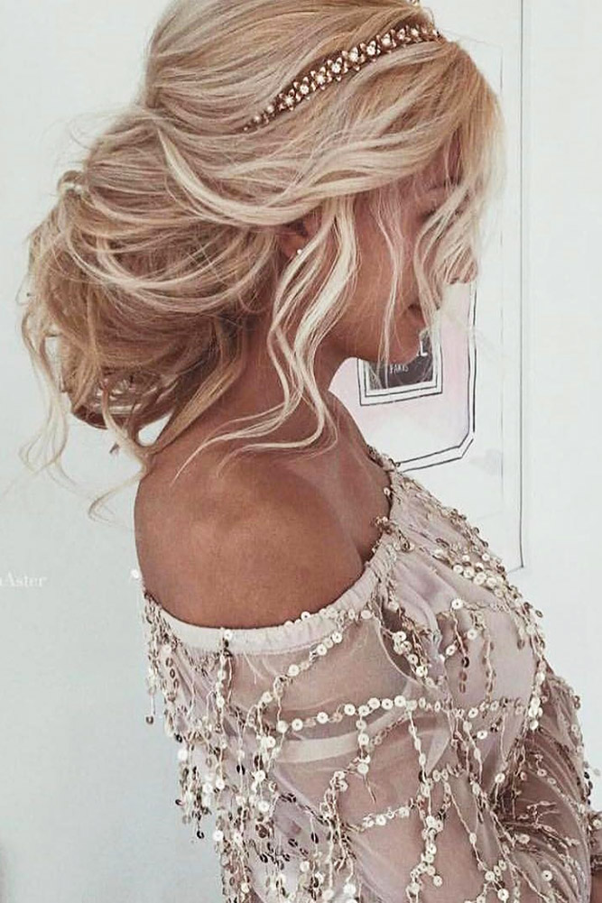30 WEDDING HAIRSTYLES FOR LONG HAIR FROM ULYANA ASTER - My Stylish Zoo