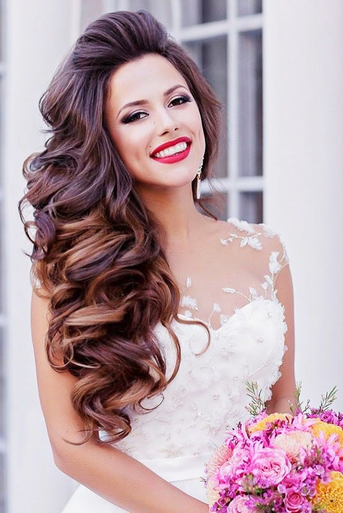 30 EXQUISITE WEDDING HAIRSTYLES WITH HAIR DOWN - My ...