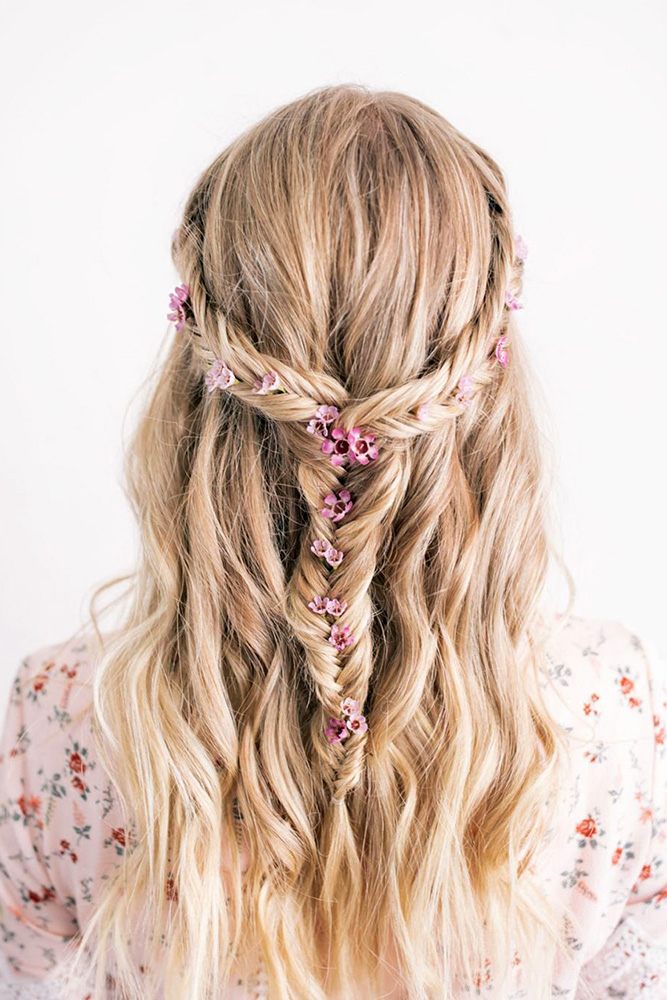 40 BEST WEDDING HAIRSTYLES FOR LONG HAIR 2018-19 - My Stylish Zoo