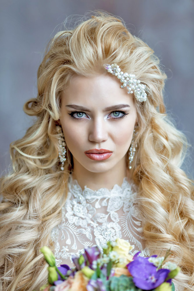 40 BEST WEDDING HAIRSTYLES FOR LONG HAIR 2020 - My Stylish Zoo