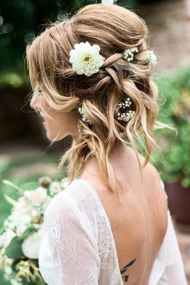 30 PERFECT WEDDING HAIRSTYLES FOR MEDIUM HAIR - My Stylish Zoo