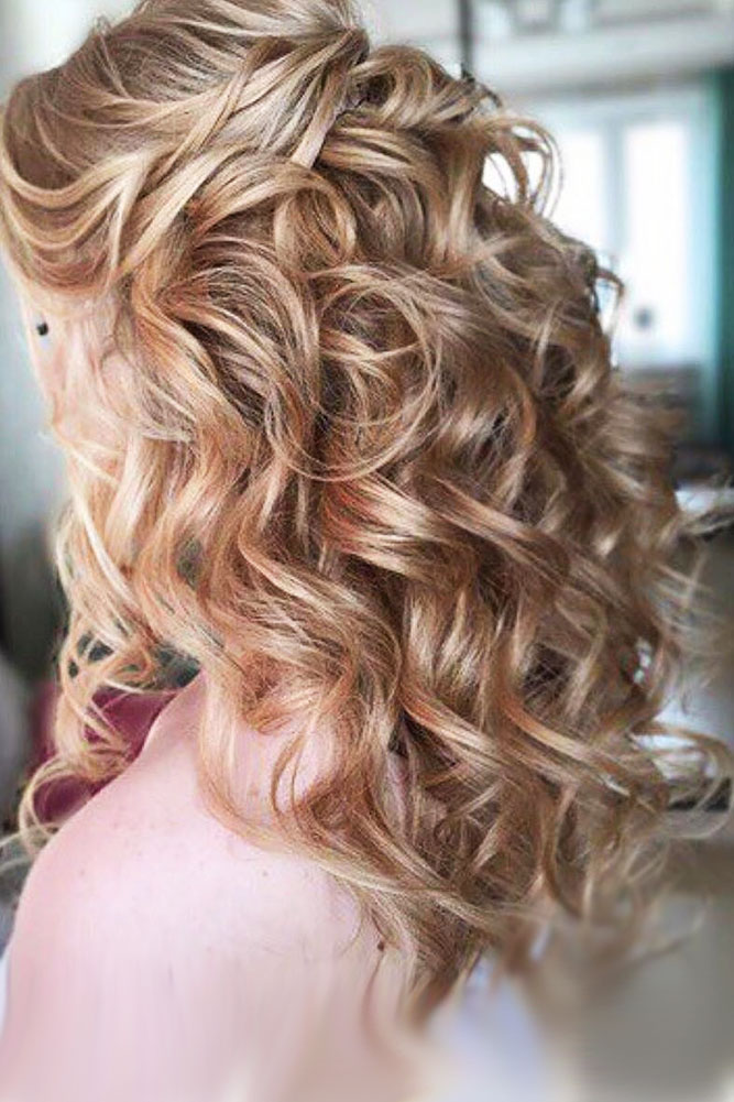30 Captivating Wedding Hairstyle For Medium Lenght Hair ...