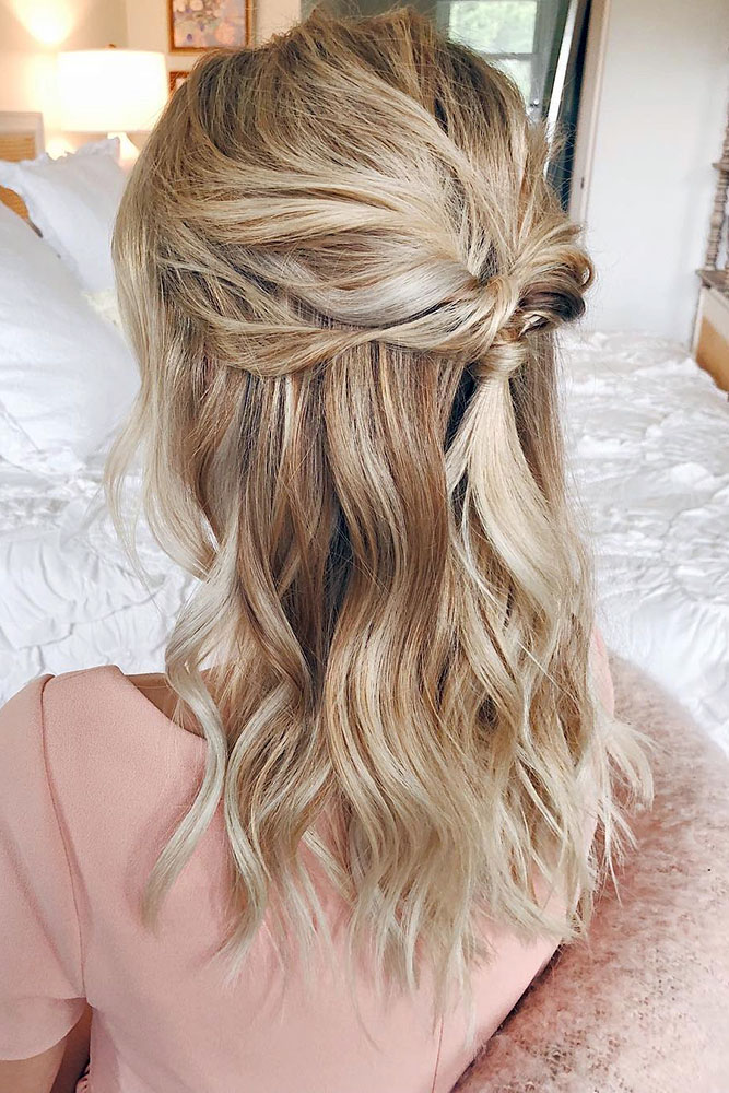 25 CAPTIVATING WEDDING HAIRSTYLES FOR MEDIUM LENGTH HAIR - My Stylish Zoo