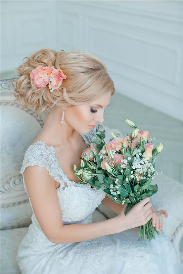 18 Most Beautiful Updo Wedding Hairstyles to Inspire You