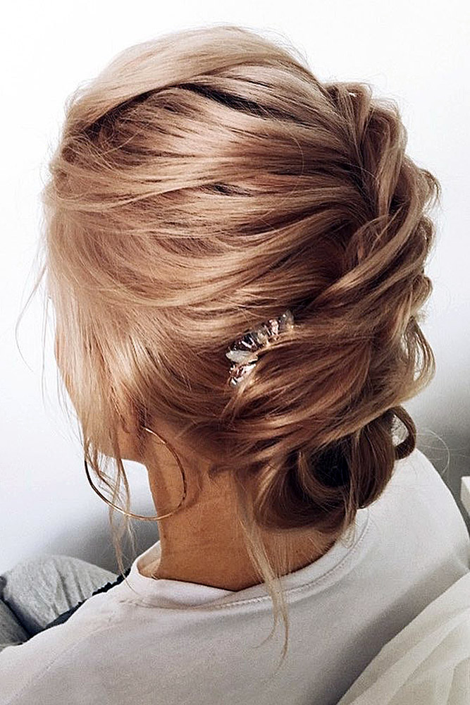 30 WEDDING UPDOS FOR SHORT HAIR – My Stylish Zoo
