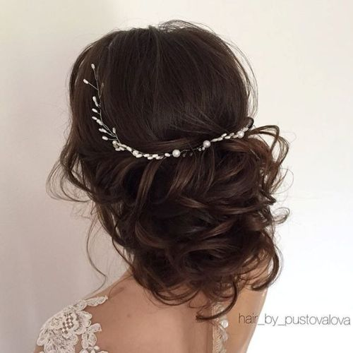 Loose Wedding Hairstyles: 35 Chic Wedding Hair Updos For Elegant Brides