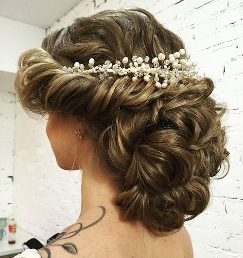 Wedding New Hair Style: 35 Chic Wedding Hair Updos For Elegant Brides
