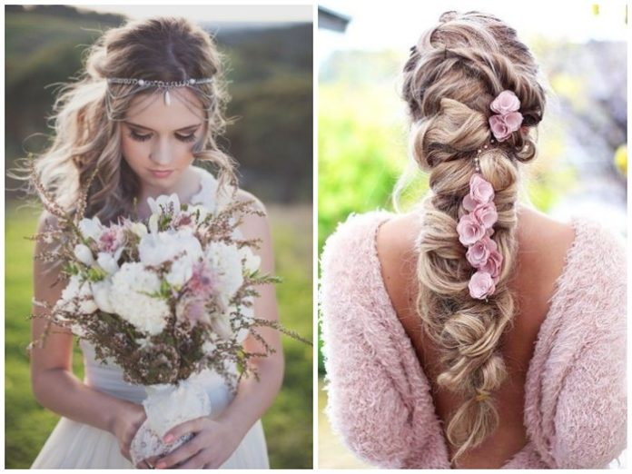 20 Boho Inspired Unique And Creative Wedding Hairstyles My