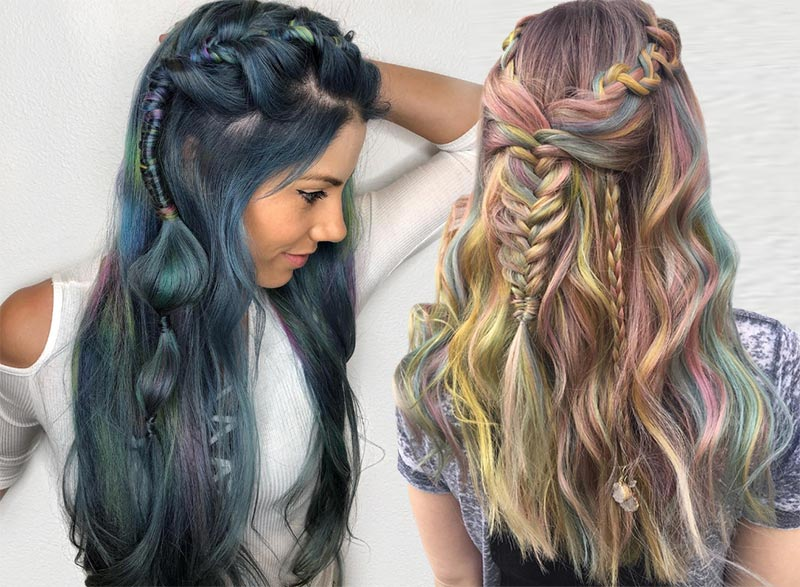 Braids for long hair can be loose, chunky, and haphazard for a more bohemian look, or they can be kept very clean or twisted into buns for sophisticated ...