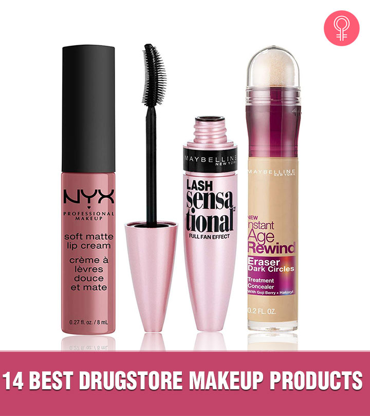 Top 14 Best Women Drugstore Makeup Products 2020