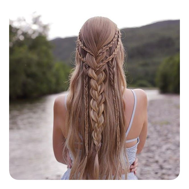 Top 20 Cute Boho Hairstyles For Women 2020