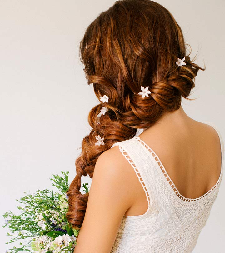 28 Prettiest Wedding Hairstyles: Top 11 Best Indian Wedding Hairstyles For Christian Brides